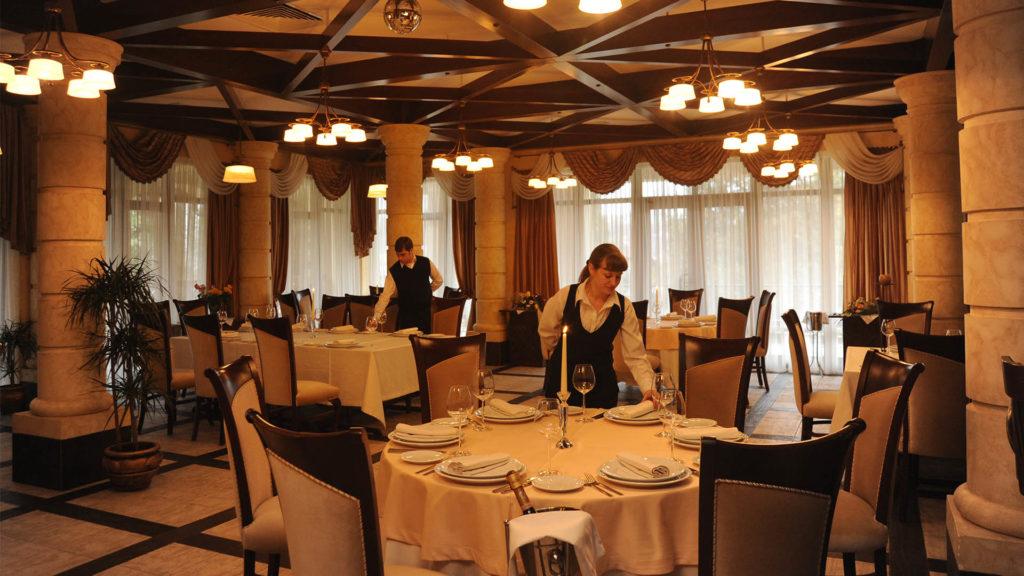 Ресторан на левом берегу Дона