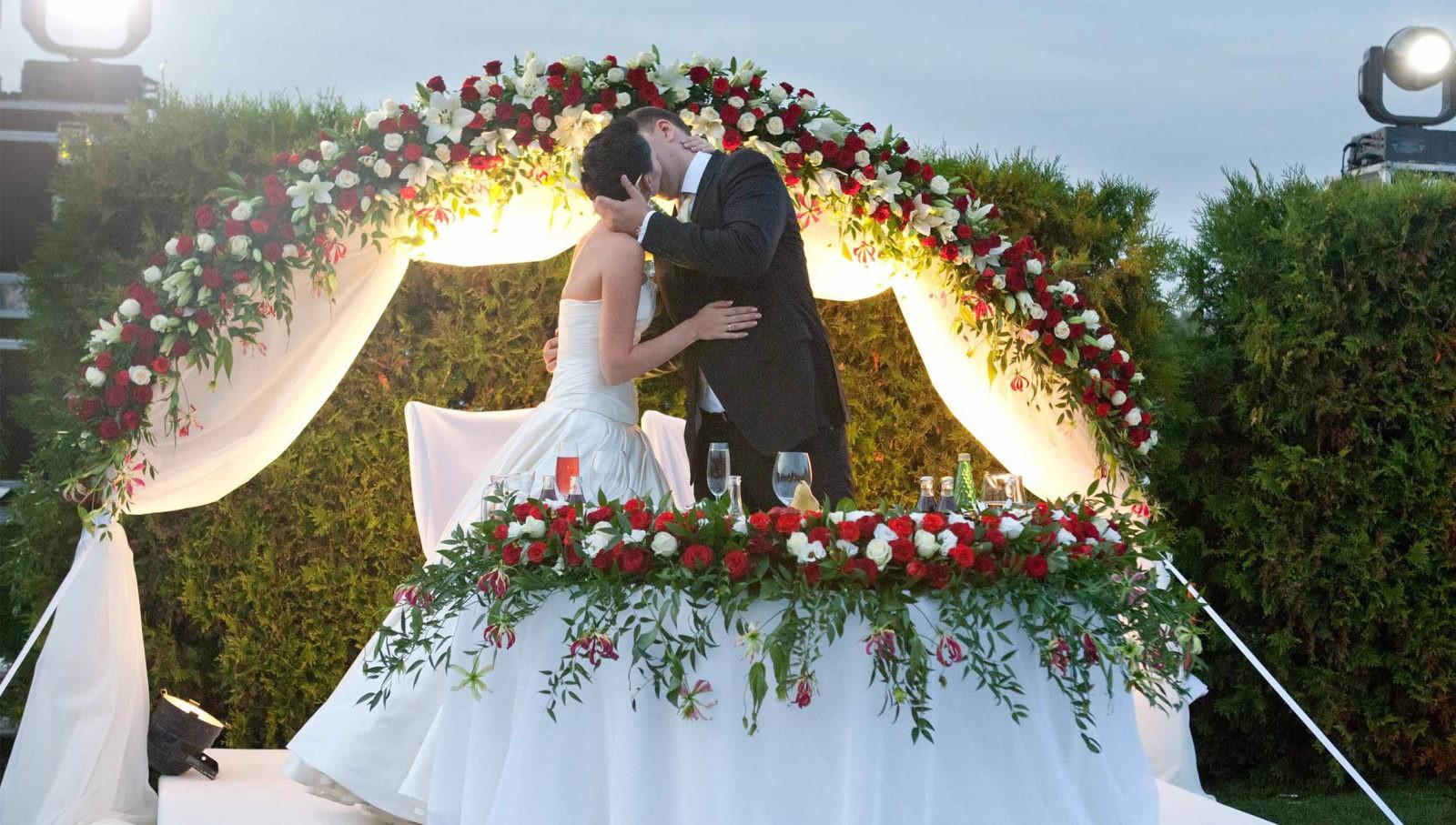 Свадьба в Ростове-на-Дону на левом берегу Дона