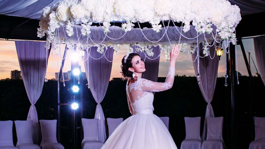 Свадьба в отеле Высокий Берег