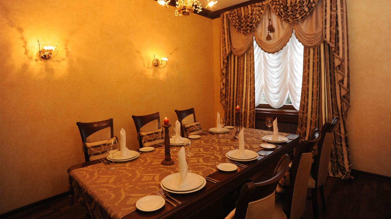 VIP Столик в Ресторане Высокий Берег