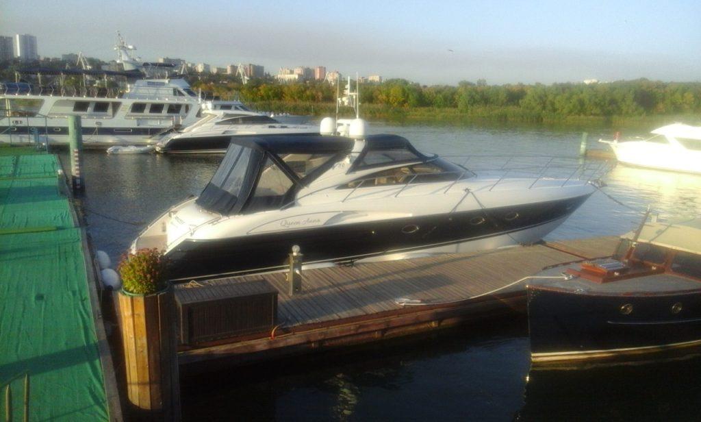 Яхта Princess в Ростове-на-Дону